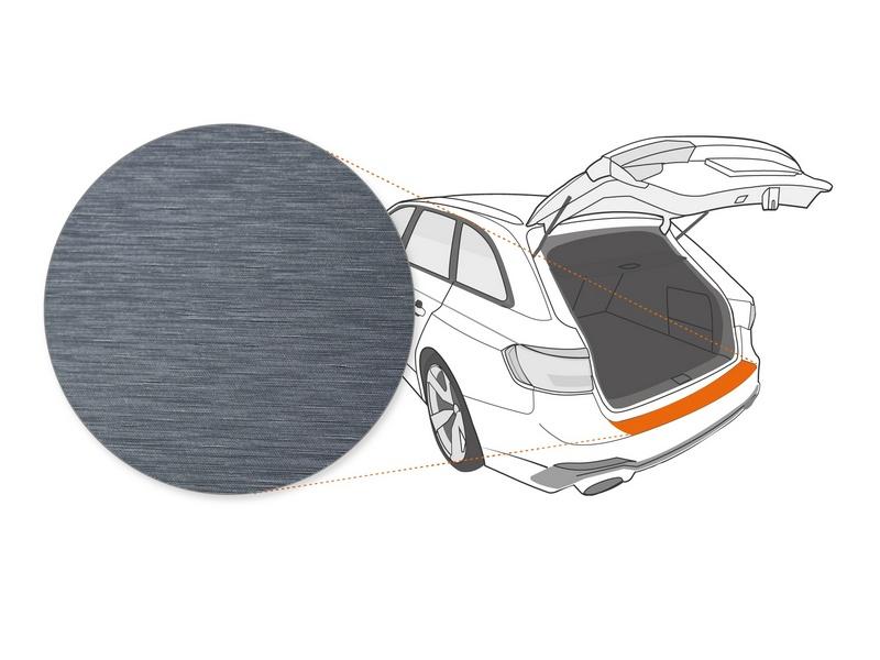 Ladekantenschutzfolie › Anthrazit Gebürstet Matt | 150 µm stark | Mercedes-Benz GLE Coupe Typ C167 ab BJ 2020