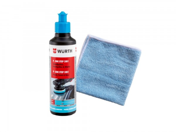 WÜRTH- ONE STEP 3IN1 + Microfasertuch Classic -